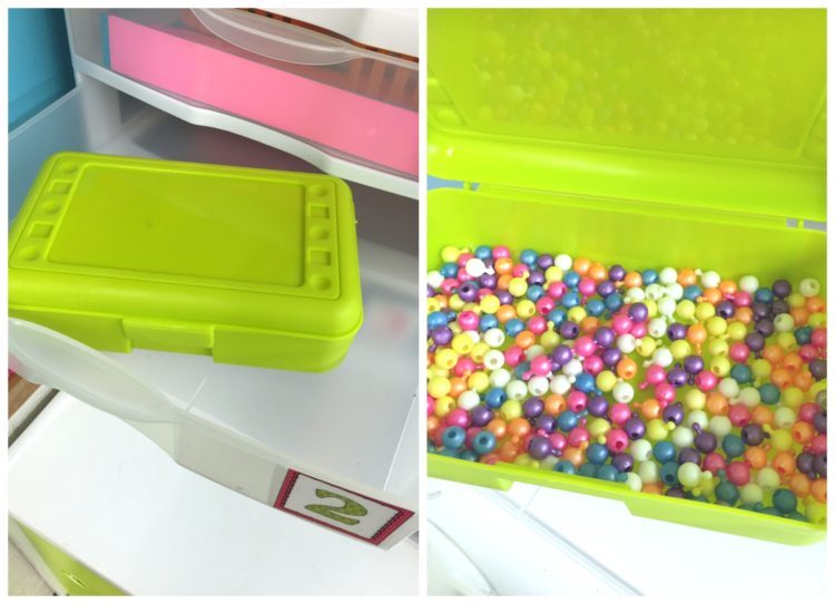 Fine Motor Activities for Morning Work Centers -- Pop Beads