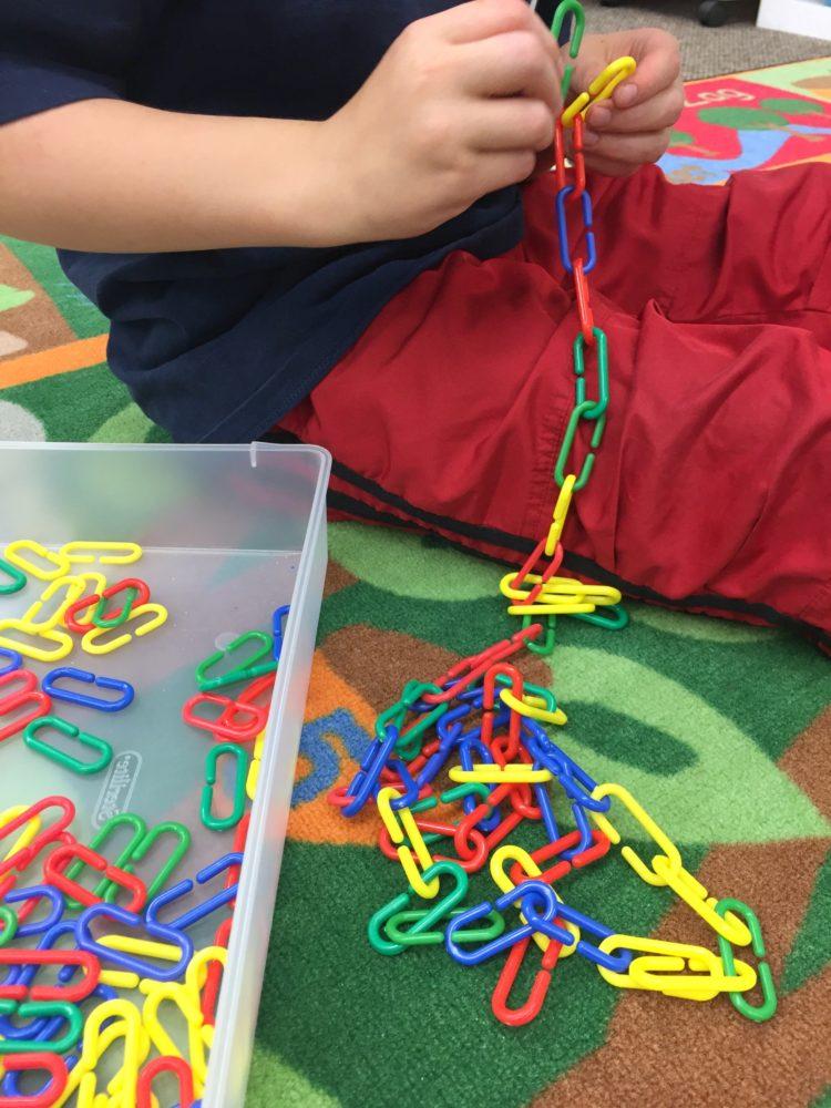 Fine Motor Work Stations In Action in Kindergarten-Plastic Link