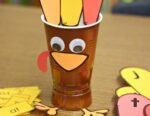 Astrobrights Sight Word Turkey Freebie