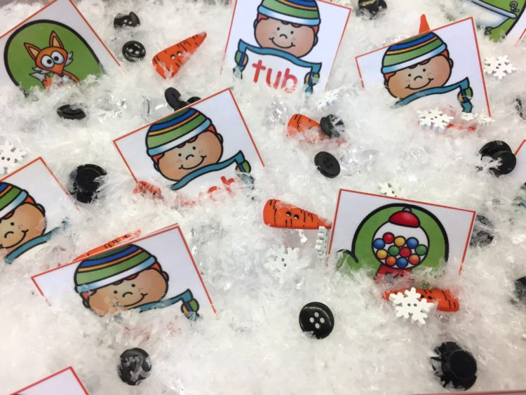 Sensory Activities for January in Kindergarten