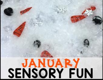 January Sensory Fun!