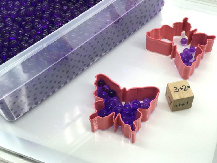 Fine Motor Water Gel Beads
