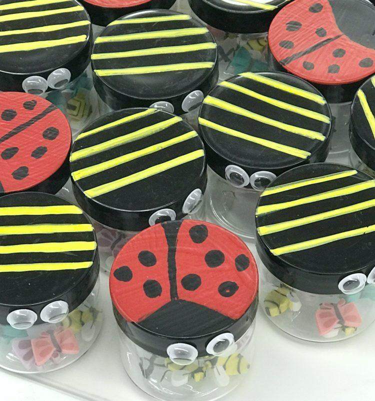 Fine Motor Kindergarten Bug Jars