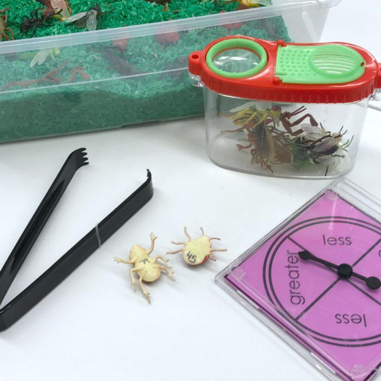 Kindergarten Fine Motor Bugs