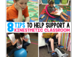 8 Tips To Help Support a Kinesthetic Classroom
