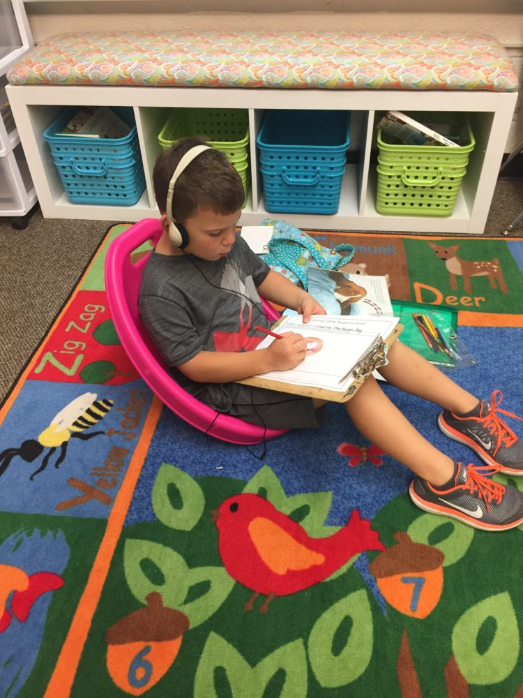 scoop chairs in kindergarten