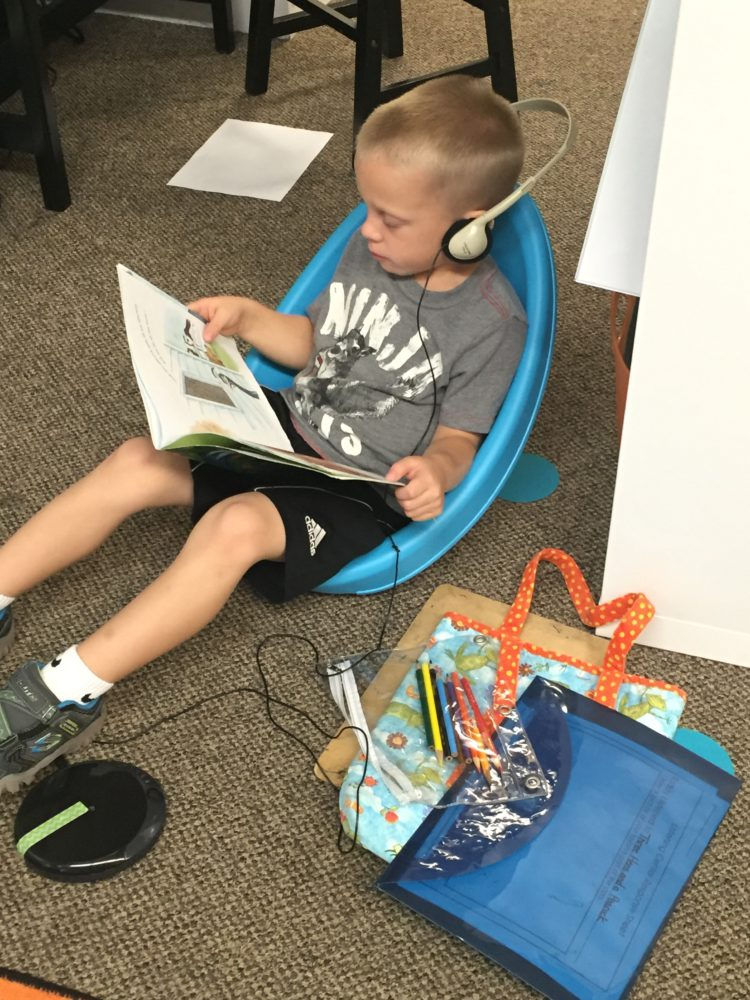 Flexible Seating with Scoop Chairs