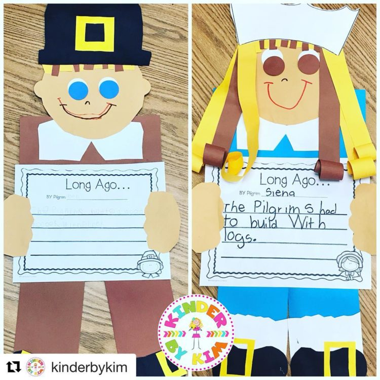 OMGoodness Kim from kinderbykim has the cutest Thanksgiving Activity Youhellip