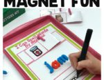 Making Magnetic Word Work Independent With This Free Activity