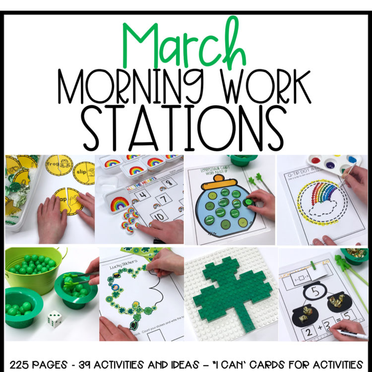 March Morning Work Stations!!! Swipe to see just a fewhellip