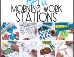 April Morning Work Stations