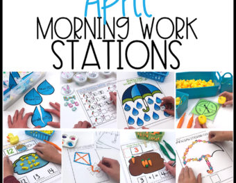 April Morning Work Stations
