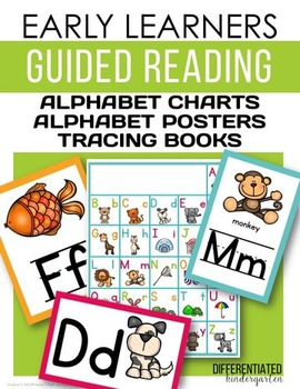 Early Learners Guided Reading-Alphabet Posters, Charts and Tracing books
