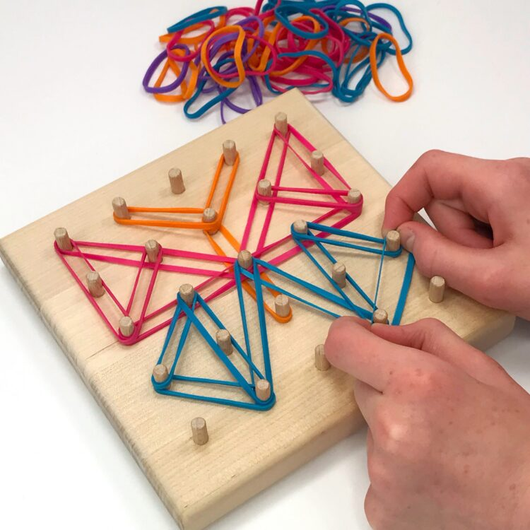 Geoboard Activities for Fine Motor