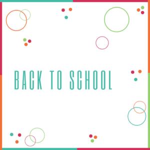 ❤️ Back To School
