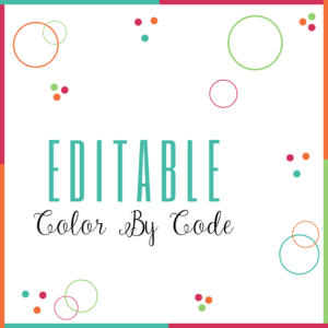 Editable Color By Code