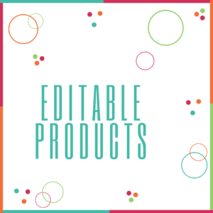 Editable Products