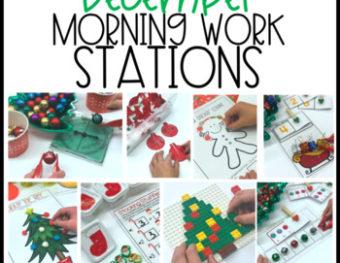 Morning Work Stations – December