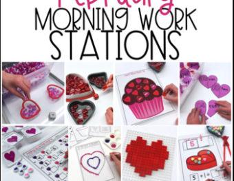 Morning Work Stations – February