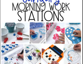 Morning Work Stations – January