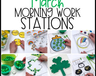 Morning Work Stations – March