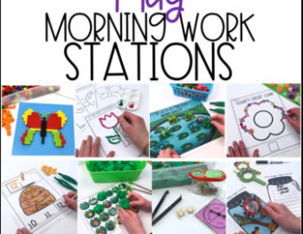 Morning Work Stations – May