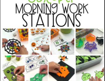 Morning Work Stations – October