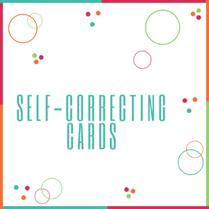 Self-Correcting Cards