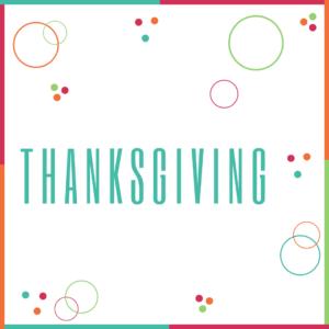 ❤️ Thanksgiving