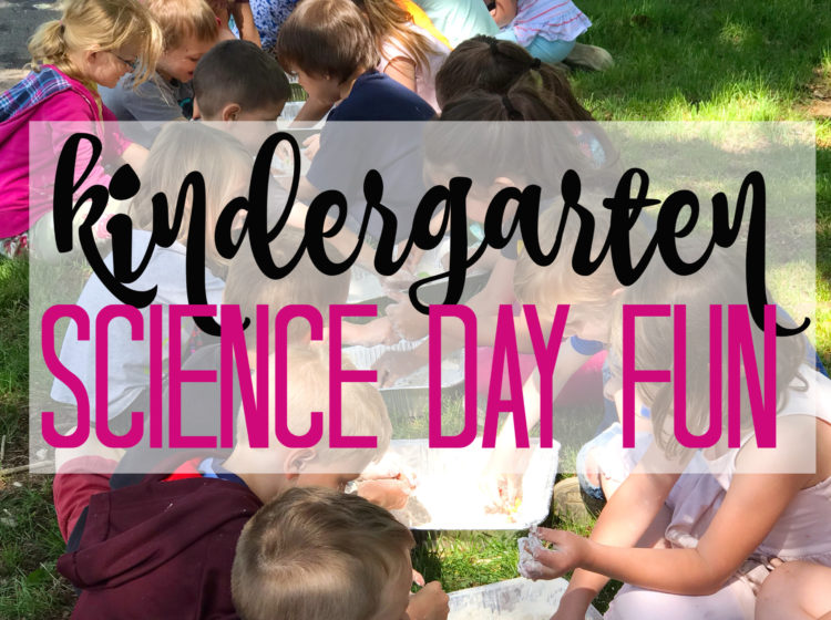 Kindergarten Science Day Fun