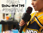 Show and Tell In Kindergarten