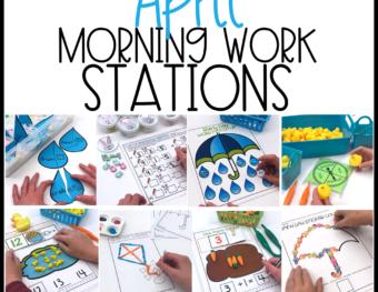 April Morning Work Materials