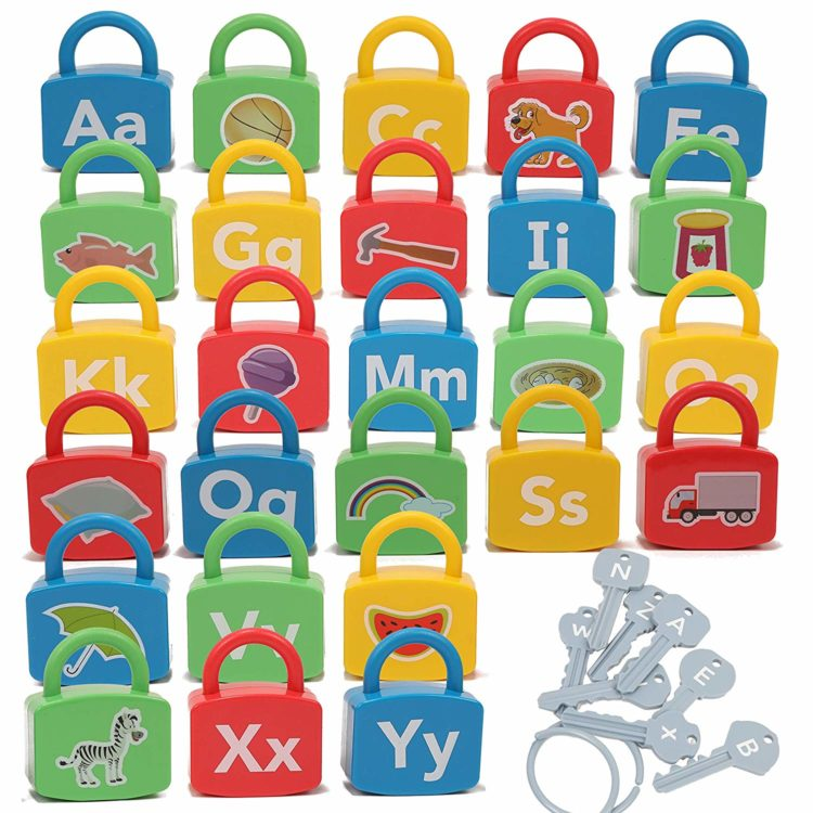 alphabet locks and keys