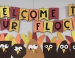 Thanksgiving Turkey Bulletin Board Banner
