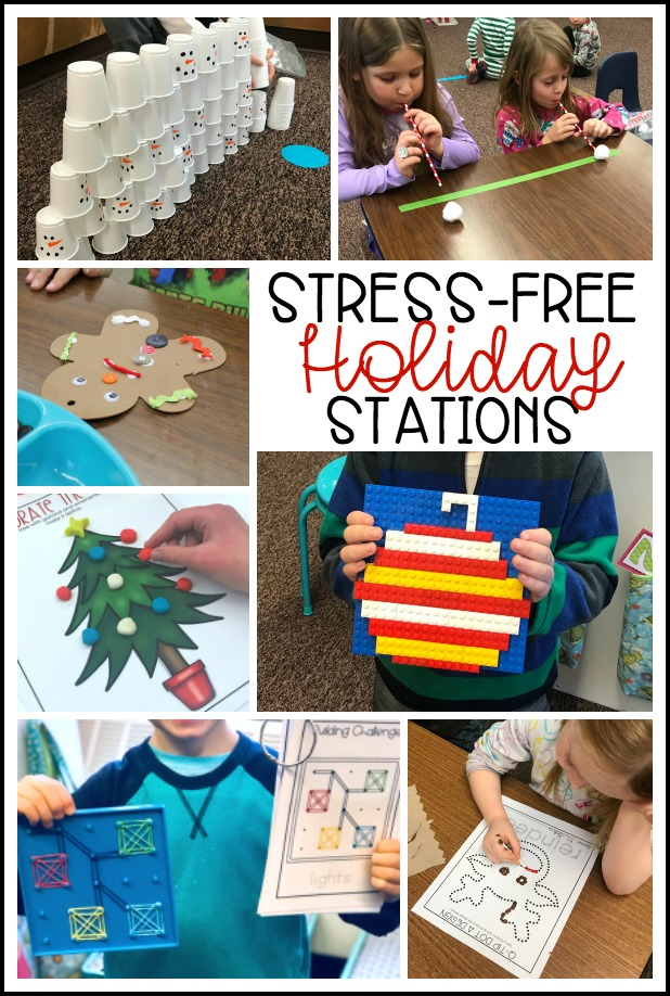 Christmas can be extra stressful for teachers and students, but these kid-tested activities will make the days before the holidays easy and engaging.  Perfect for holiday parties, these activities will delight teachers and students. You will love these engaging, hands-on games and activities.