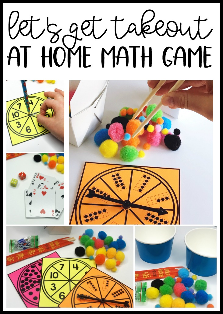 Keep at home learning developmentally appropriate with games like this.  Kindergarten and early elementary students will love using items from home to practice essential skills.  Plus it's also great fine motor practice.