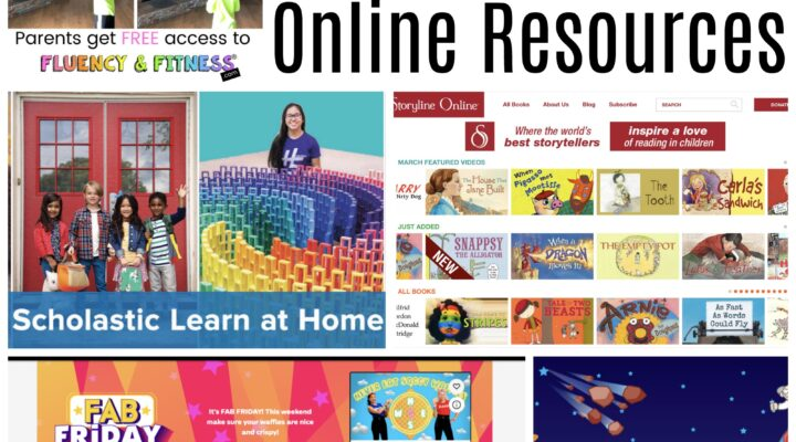Free Online Resources for Learning At Home