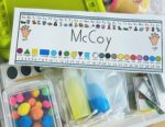 Inside Take-Home Fine Motor Kits for the First Nine Weeks